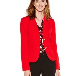 COPY - Calvin Klein Red Blazer 6